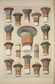 no 3 captials of columns showing the varied