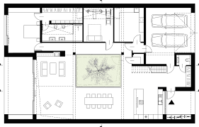 gallery of courtyard house inostudio 39 ground floor plan