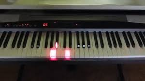 keyboard that lights up to teach you how to play piano casio px 500l key light tutor midi 88 led rgb ws2812 piano