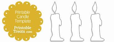 free printable candle template u2014 printable treats