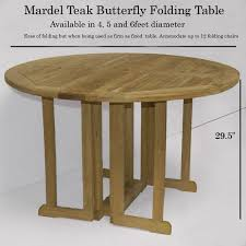 Outdoor Round Table Mardel