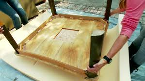 How To Make An Ottoman From A Coffee Table Coffee Table How To Make A Coffee Table Ottoman Hgtv