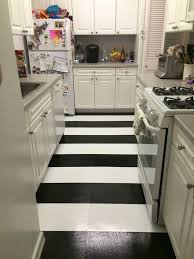 home and decor flooring modern kitchen black and white striped kitchen vinyl flooring