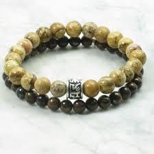 beaded bracelet with pearls images Bracelets for men jpg