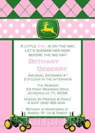 deere baby shower deere baby shower invitations marialonghi