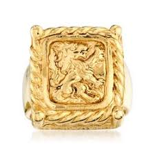 eclectic lion ring holder images Uniquely chic rings jpg