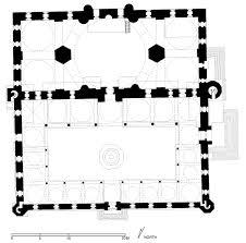 Terminal 5 Floor Plan by Floor Plan Of üç Serefeli Mosque Edirne Archnet