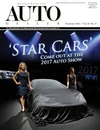 massachusetts auto dealer november 2016 by massachusetts state