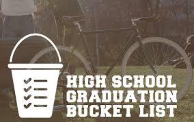 high school senior mailing list high school graduation list senior year checklist