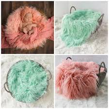 photography props 2018 newborn wool blanket baby photo props baby basket stuffer