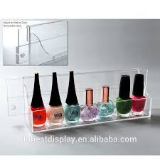 wall mount acrylic nail polish display wall mount acrylic nail