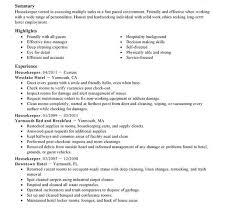 cleaner resume template housekeeper resume housekeeping cleaning resume sle