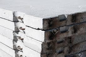 concrete ferro concrete block brick construction grey cement