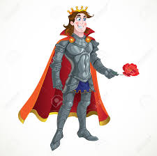 prince charming prince charming in armour give flover royalty free cliparts