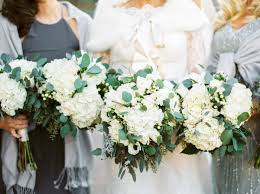 wedding flowers greenery modern white bouquet greenery hydrangea modern space tennessee