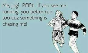 Funny Running Memes - if you see me running funny meme funny memes