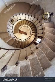 spiral staircase scottys castle death valley stock photo 67494850