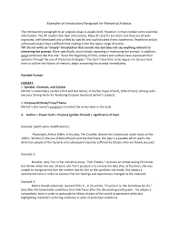 Sample Rhetorical Analysis Essay Ap English Examples Of Introductory Paragraph For Rhetorical Analysis The