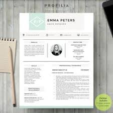 Cover Letter Sample For Resume by Modern Resume Template With Cover Letter Cv Template