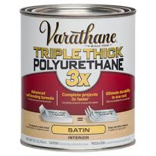 interior wood stain colors home depot varathane 1 qt satin triple thick polyurethane case of 2 281543