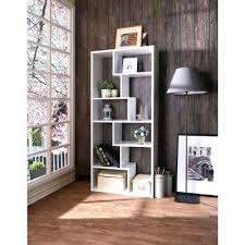 bookcase white bookcase with wooden top cora cube bookcase in