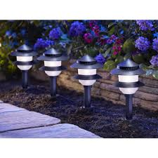 12 Volt Landscape Lighting Parts by Moonrays 95534 Low Voltage 4 Watt 12 Volt 2 Tier Path Lighting Kit