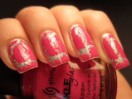 jessica u0027s nail art my first crackle nail polish