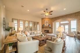 Model Home Living Room by Model Homes