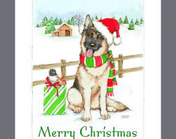 german shepherd dog etsy