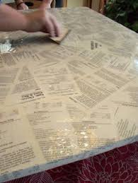 Epoxy Table Top Ideas by How To Refinish A Table With Fabric And Resin Resin Crafts