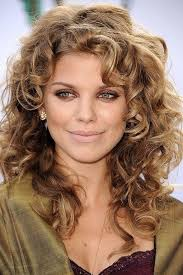 when was big perm hair popular celebrity curly hair for women