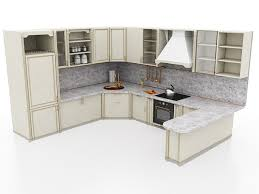Kitchen Cabinet 3d Grey Stained Kitchen Cabinets 3d Model 3ds Max Files Free