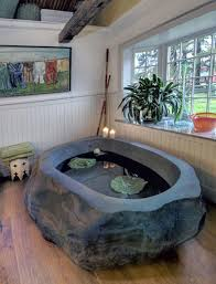 Stone Baths Natural Stone Bath Tub For Small Bathroom Design Idea Home