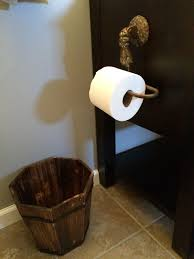 details to a pirate themed bathroom found toilet paper holder for