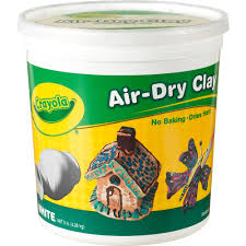 crayola air dry clay white 5 lbs walmart com