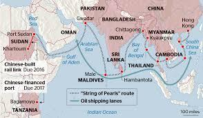Silk Road Map Maritime Silk Road Insights