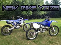 new dirt bike 2005 yamaha yz125 youtube