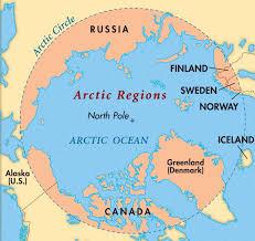 North Pole Alaska Map by Living In The Arctic E U0026o Montessori