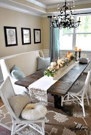 how to decorate dining room table for fall simple ideas