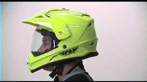 afx motocross helmet fly racing trekker dual sport motorcycle helmet review youtube