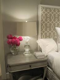 monochromatic gray bedroom design with soft gray walls paint color