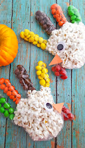 popcorn treat bags for thanksgiving