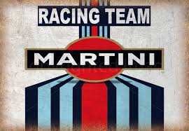 martini racing martini racing team vintage garage vintage metal tin sign wall plaque