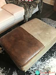 Repaint Leather Sofa Using Leather Paint To Update Furniture Shoes And A Briefcase