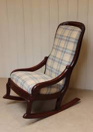 antique upholstered rocking chair inspirations home u0026 interior