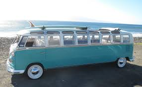 custom volkswagen bus custom 33 window vw bus limousine recently offered on ebay