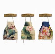 femme nue cuisine tablier de cuisine lotus motif vintage femme au foyer tabliers