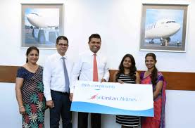 Oneworld Route Map by Lucky Winner Of Srilankan Airlines Passenger Survey