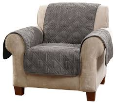 Couch Covers Bed Bath And Beyond Sure Fit Deluxe Waterproof Non Skid Back Furniture Cover Chair