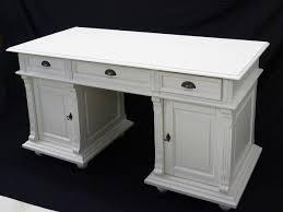 Antiker Schreibtisch Schreibtisch Büromöbel Computertisch Aus Massivholz In Weiß